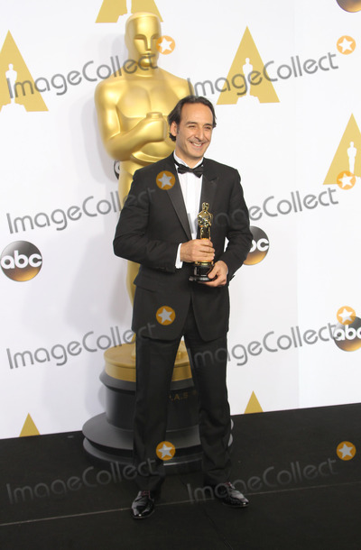 Alexandre Desplat Photo - 22 February 2015 - Hollywood California - Alexandre Desplat 87th Annual Academy Awards presented by the Academy of Motion Picture Arts and Sciences held at the Dolby Theatre Photo Credit F SadouAdMedia