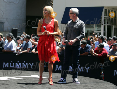 Alex Kurtzman Photo - 20 May 2017 - Hollywood California - Annabelle Wallis Alex Kurtzman Universal Celebrates The Mummy Day With 75-Foot Sarcophagus Takeover At Hollywood And Highland Photo Credit F SadouAdMedia