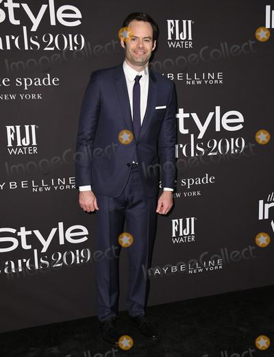 Bill Hader Photo - 21 October 2019 - Hollywood California - Bill Hader 2019 InStyle Awards held at The Getty Center Photo Credit Birdie ThompsonAdMedia