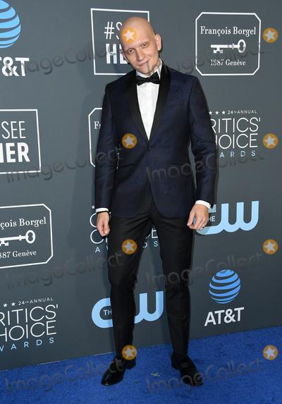 Anthony Carrigan Photo - 13 January 2019 - Santa Monica California - Anthony Carrigan The 24th Annual Critics Choice Awards held at Barker Hangar Photo Credit Birdie ThompsonAdMedia