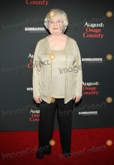 June Squibb Photo - 16 December 2013 - Los Angeles California - June Squibb Premiere Of The Weinstein Companys August Osage  Held at Regal Cinemas LA Live Photo Credit Kevan BrooksAdMedia