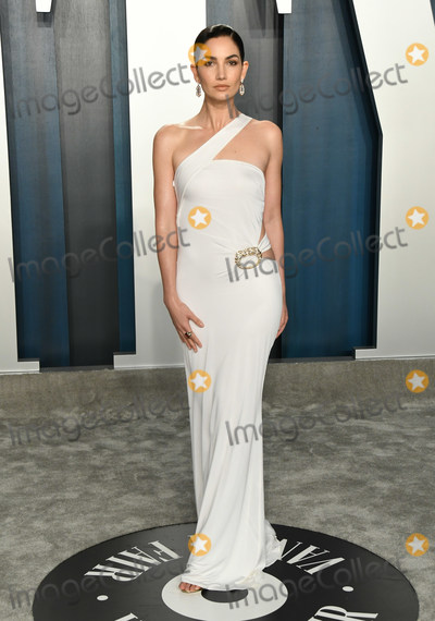 Lily Aldridge Photo - 09 February 2020 - Los Angeles California -  2020 Vanity Fair Oscar Party following the 92nd Academy Awards held at the Wallis Annenberg Center for the Performing Arts Photo Credit Birdie ThompsonAdMedia