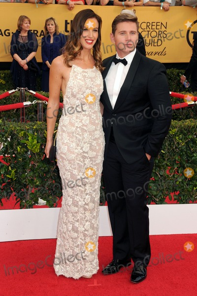 Charlie Webster Photo - 25 January 2015 - Los Angeles California - Charlie Webster Allen Leech 21st Annual Screen Actors Guild Awards - Arrivals held at The Shrine Auditorium Photo Credit Byron PurvisAdMedia