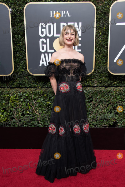 Alison Sudol Photo - 07 January 2018 - Beverly Hills California - Alison Sudol 75th Annual Golden Globe Awards held at the Beverly Hilton Photo Credit HFPAAdMedia