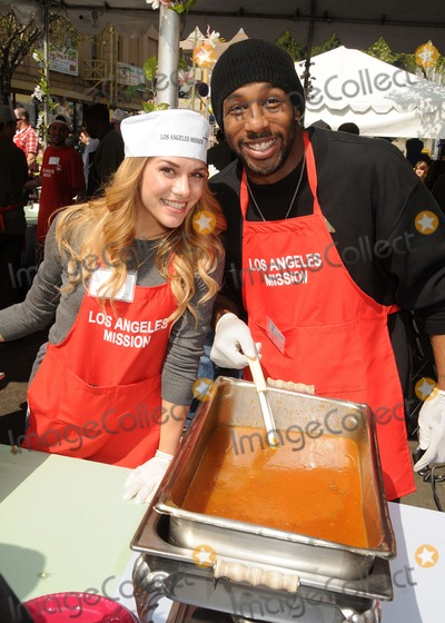 Stephen Boss Photo - 29 March 2013 - Los Angeles California - Allison Holker Stephen Boss Twitch Los Angeles Mission Easter Event held at the Los Angeles Mission Photo Credit Byron PurvisAdMedia