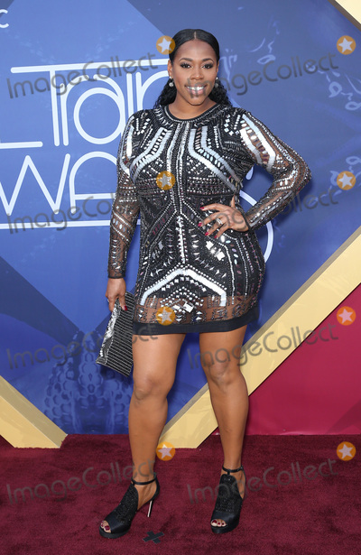 Nicci Gilbert Photo - 06 November 2016 - Las Vegas Nevada - Nicci Gilbert Soul Train Awards 2016 Red Carpet at the Orleans Arena  Photo Credit MJTAdMedia