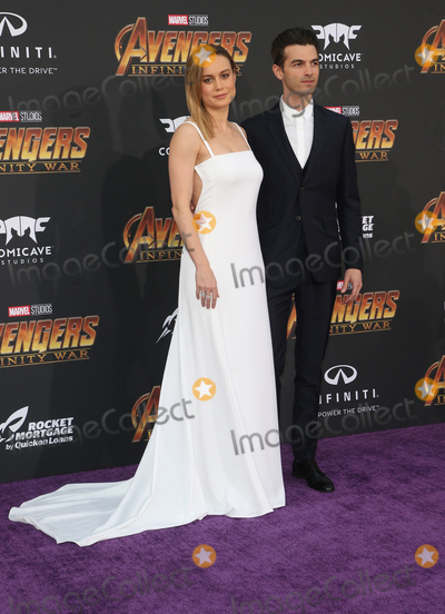 Brie Larson Photo - 23 April 2018 - Hollywood California - Brie Larson Alex Greenwald Disney and Marvels Avengers Infinity War Los Angeles Premiere held at Dolby Theater Photo Credit F SadouAdMedia