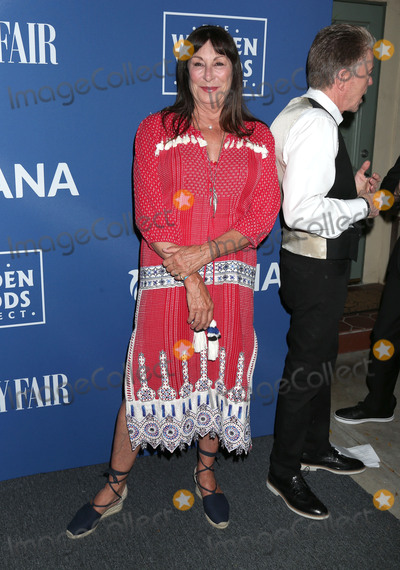 Anjelica Huston Photo - 17 July 2017 - Los Angeles California - Anjelica Huston 2017 Oceana And The Walden Woods Project Present Rock Under The Stars With Don Henley And Friends held at a private residence Photo Credit Russ ElliotAdMedia