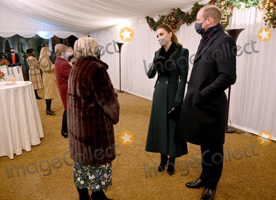 Queen Elizabeth Photo - 8th December 2020 - Prince William Duke of Cambridge Queen Elizabeth II Prince Charles Prince of Wales during an event to thank local volunteers and key workers for the work they are doing during the coronavirus pandemic and over Christmas in the quadrangle of Windsor Castle in Windsor Berkshire Photo Credit ALPRAdMedia