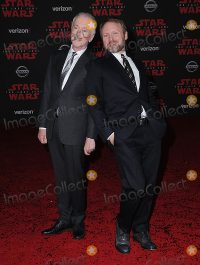 Anthony Daniels Photo - 09 December  2017 - Los Angeles California - Anthony Daniels Rian Johnson Premiere Of Disney Pictures And Lucasfilms Star Wars The Last Jedi held at The Shrine Auditorium  in Los Angeles Photo Credit Birdie ThompsonAdMedia