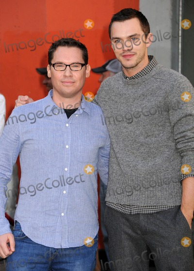 Slayer Photo - 28 February 2013 - Hollywood California - Bryan Singer Nicholas Hoult Jack The Giant Slayer Footprint Unveiling held at the TCL Chinese Theatre Photo Credit Byron PurvisAdMedia