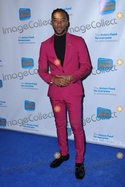 Algee Smith Photo - 05 December  2017 - Hollywood California - Algee Smith The Actors Fund 2017 Looking Ahead Awards held at The Taglyan Complex in Hollywood Photo Credit Birdie ThompsonAdMedia