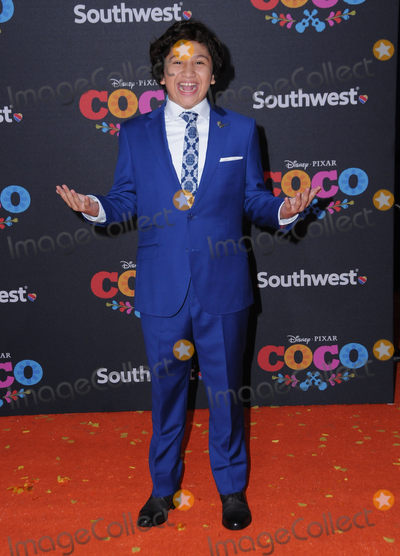 Anthony Gonzalez Photo - 06 November  2017 - Hollywood California - Anthony Gonzalez Disney Pixars Coco Los Angeles premiere held at El Capitan Theater in Hollywood Photo Credit Birdie ThompsonAdMedia