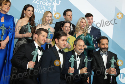 Alex Borstein Photo - 19 January 2020 - Los Angeles California - Caroline Aaron Marin Hinkle Rachel Brosnahan Alex Borstein and Matilda Szydagis Kevin Pollak Tony Shalhoub Michael Zegen Luke Kirby The Marvelous Mrs Maisel Cast 26th Annual Screen Actors Guild Awards held at The Shrine Auditorium Photo Credit AdMedia