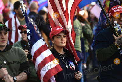 Supremes Photo - Participants in the pro-Trump MAGA rally march up Pennsylvania Avenue Northwest from Freedom Plaza to the United States Supreme Court around in Washington DC on Saturday November 14 2020Credit Rod Lamkey  CNPAdMedia