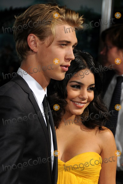 Austin Butler Photo - 2 February 2012 - Hollywood California - Austin Butler and Vanessa Hudgens Journey 2 The Mysterious Island Los Angeles Premiere held at Graumans Chinese Theatre Photo Credit Byron PurvisAdMedia