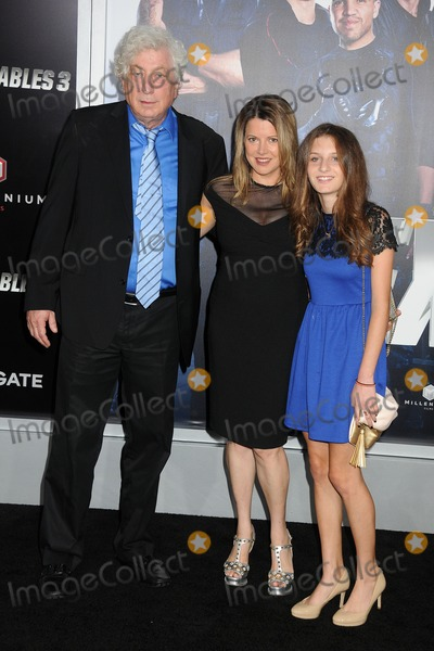 Avi Lerner Photo - 11 August 2014 - Hollywood California - Avi Lerner Heidi Jo Markel Marlena Lerner The Expendables 3 Los Angeles Premiere held at the TCL Chinese Theatre Photo Credit Byron PurvisAdMedia