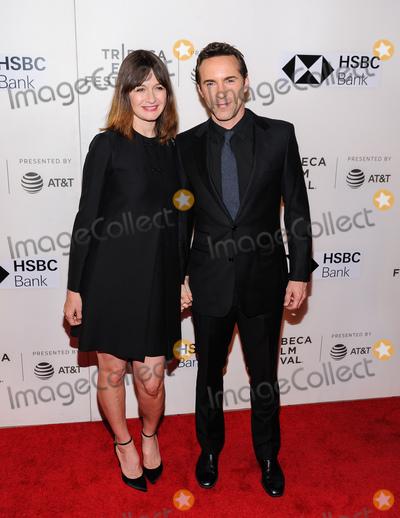 Alessandro Nivola Photo - 24 April 2018 - New York New York - Emily Mortimer Alessandro Nivola Tribeca Film Festival 2018 Disobedience  Photo Credit Christopher SmithAdMedia