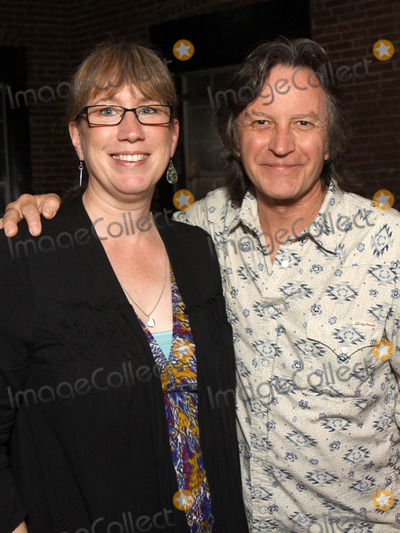 Jeff Hanna Photo - July 26 2011 - Nashville TN - Nashville publicist Erit Morris and Jeff Hanna of the Nitty Gritty Dirt Band Artists musicians and songwriters came together at Mercy Lounge to help raise funds for Pete Huttlinger a widely respected guitarist and Nashville studio artist  Huttlinger has a congenital heart disease and is in need of a heart transplant Photo credit Dan HarrAdmedia