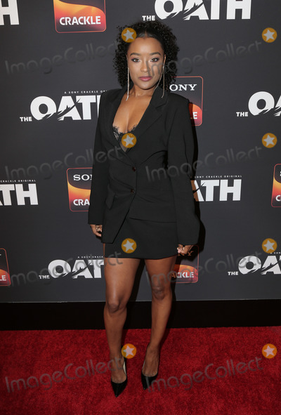 Toya Photo - 20 February 2019 - Hollywood California - LaToya Tonodeo Sony Crackles The Oath Season 2 Exclusive Screening Event held at  Paloma Photo Credit PMAAdMedia