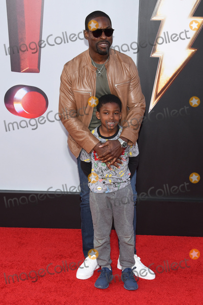 Andrew Brown Photo - 28 March 2019 - Hollywood California - Sterling K Brown Andrew Brown Warner Bros Pictures and New Line Cinema World Premiere of SHAZAM held at TCL Chinese Theatre Photo Credit Billy BennightAdMedia