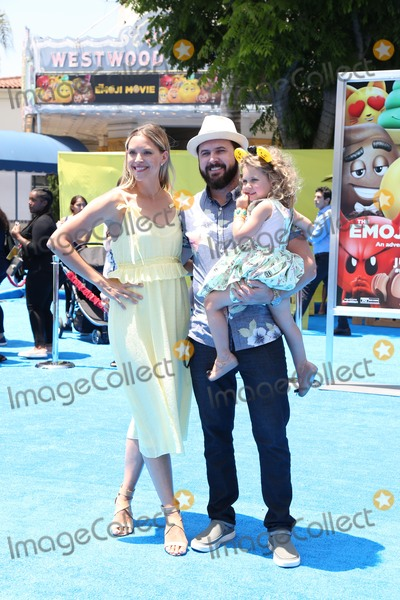 AJ Buckley Photo - 23 July 2017 - Los Angeles California - A J Buckley Abigail Ochse Willow Phoenix Buckley Premiere Of Columbia Pictures And Sony Pictures Animations The Emoji Movie held at Regency Village Theatre - Westwood CA Photo Credit PMAAdMedia
