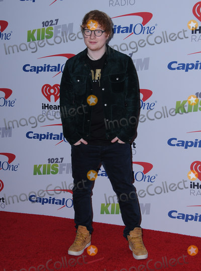 Ed Sheeran Photo - 01 December  2017 - Inglewood California - Ed Sheeran 2017 1027 KIIS FMs Jingle Ball held at The Forum in Inglewood Photo Credit Birdie ThompsonAdMedia