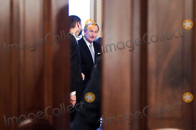 Donald Trump Photo - Michael van der Veen attorney for former President Donald Trump is seen after the Senate voted 57-43 to acquit former President Trump during his impeachment trial on Saturday February 13 2021Credit Greg Nash - Pool via CNPAdMedia