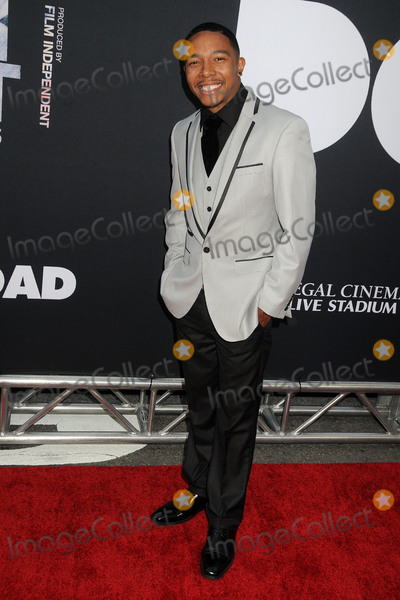 Allen Maldonado Photo - 8 June 2015 - Los Angeles California - Allen Maldonado LA Film Festival 2015 Premiere of Dope held at Regal Cinemas LA Live Photo Credit Byron PurvisAdMedia
