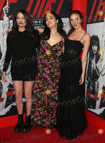Courtney Dietz Photo - 18 March 2019 - Hollywood California - Alexanne Wagner Elena Evangelo Courtney Dietz Netflixs The Dirt World Premiere held at The Wolf Theatre at The ArcLight Cinemas Cinerama Dome Photo Credit Faye SadouAdMedia