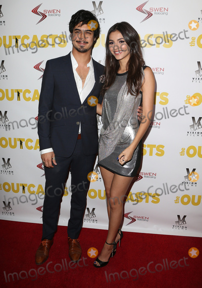 Avan Jogia Photo - 13 April 2017 - Los Angeles California - Avan Jogia Victoria Justice Premiere Of Swen Groups The Outcasts held at the Landmark Regent Photo Credit AdMedia