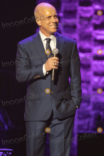 Scott Hamilton Photo - 30 April 2019 - Nashville Tennessee - Scott Hamilton speaks to fans at 35 Years of Friends Celebrating the Music of Michael W Smith held at Bridgestone Arena Photo Credit Frederick BreedonAdMedia