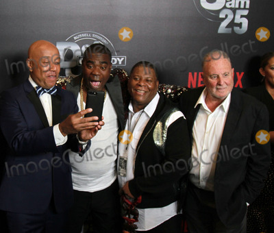 RUSSEL SIMMONS Photo - 10 September 2017 - Beverly Hills California - Russell Simmons Tracy Morgan his brother Ted Sarandos Netflix Def Comedy Jam 25 held at The Beverly Hilton Photo Credit Theresa BoucheAdMedia