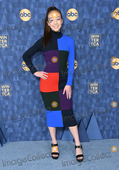 Aubrey Anderson-Emmons Photo - 08 January 2020 - Pasadena California - Aubrey Anderson-Emmons ABC Winter TCA 2020 held at Langham Huntington Hotel Photo Credit Birdie ThompsonAdMedia