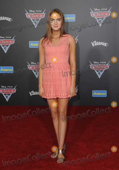 Brighton Sharbino Photo - 10 June 2017 - Anaheim California - Brighton Sharbino Premiere of Disney Pixars Cars 3 held at the Anaheim Convention Center in Anaheim Photo Credit Birdie ThompsonAdMedia