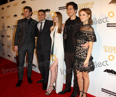 Austin Stowell Photo - 15 February 2017 - Los Angeles California - Austin Stowell Director James Franco Ashley Greene Nat Wolff and Ahna OReilly In Dubious Battle Los Angeles Premiere held at the ArcLight Hollywood Theatre in Hollywood Photo Credit AdMedia