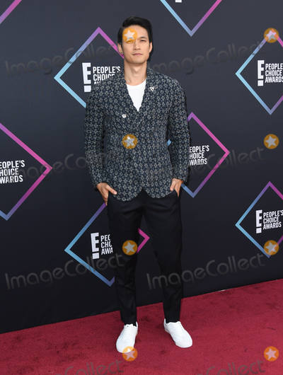Harry Shum Photo - 11 November 2018 - Santa Monica California - Harry Shum Jr 2018 E Peoples Choice Awards - Arrivals  held at Barker Hangar Photo Credit Birdie ThompsonAdMedia