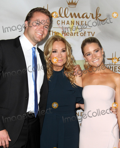 Kathy Lee Photo - 27 July 2017 - Los Angeles California - Kathie Lee Gifford with son Cody Gifford and daughter Cassidy Erin Gifford Hallmark Channel  Hallmark Movies and Mysteries Summer 2017 Television Critics Association Press Tour Event held at a Private Estate in Beverly Hills Photo Credit AdMedia