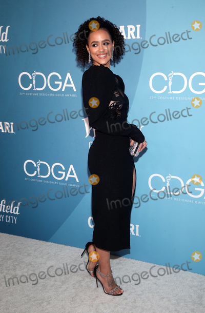 Nathalie  Photo - 28 January 2020 - Beverly Hills California - Nathalie Emmanuel 22nd Costume Designers Guild Awards held at The Beverly Hilton Hotel Photo Credit FSAdMedia