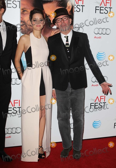 Jacques Audiard Photo - 5 November 2012 - Hollywood California - Marion Cotillard and Jacques Audiard 2012 AFI FEST Presented By Audi - Rust And Bone  Held At The Graumans Chinese Theatre Photo Credit Kevan BrooksAdMedia