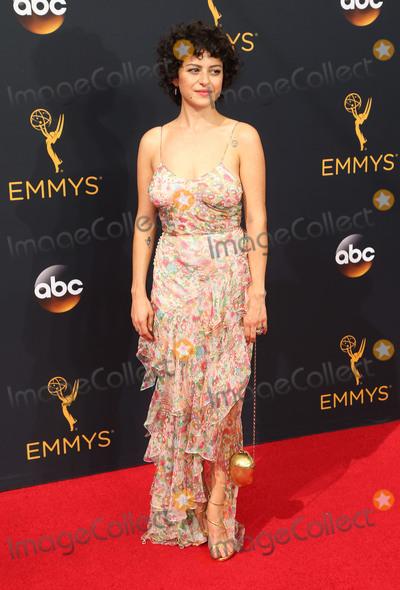 Alia Shawkat Photo - 18 September 2016 - Los Angeles California - Alia Shawkat 68th Annual Primetime Emmy Awards held at Microsoft Theater Photo Credit AdMedia