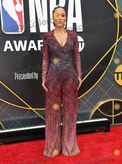 Angela Rye Photo - 24 June 2019 - Santa Monica California - Angela Rye 2019 NBA Awards held at the Barker Hangar Photo Credit Birdie ThompsonAdMedia