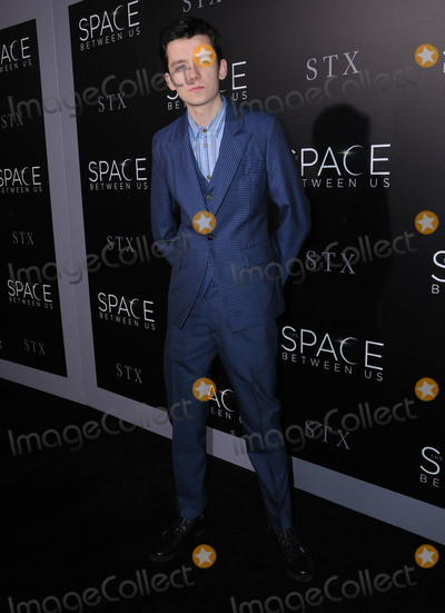 Asa Butterfield Photo - 17 January 2017 - Hollywood California - Asa Butterfield 2017 The Space Between Us special Los Angeles screening held at Arclight Hollywood Photo Credit Birdie ThompsonAdMedia