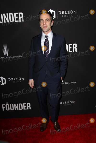 B J Novak Photo - 11 January 2017 - Los Angeles California - BJ Novak The Founder Premiere held at the Cinerama Dome at the ArcLight Hollywood Photo Credit AdMedia