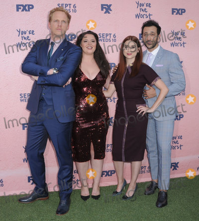 Aya Cash Photo - 29 August  2017 - Los Angeles California - Chris Geere Aya Cash Kether Donohue Desmin Borges FXXs Youre the Worst Season Four Premiere held at Museum of Ice Cream in Los Angeles Photo Credit Birdie ThompsonAdMedia
