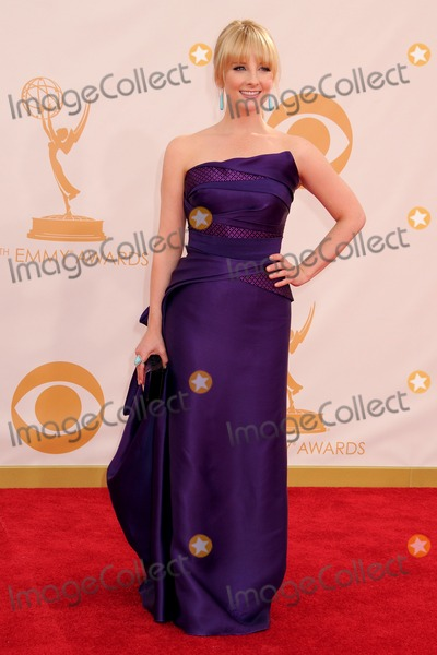Melissa Rauch Photo - 22 September 2013 - Los Angeles California - Melissa Rauch 65th Annual Primetime Emmy Awards - Arrivals held at Nokia Theatre LA Live Photo Credit Byron PurvisAdMedia