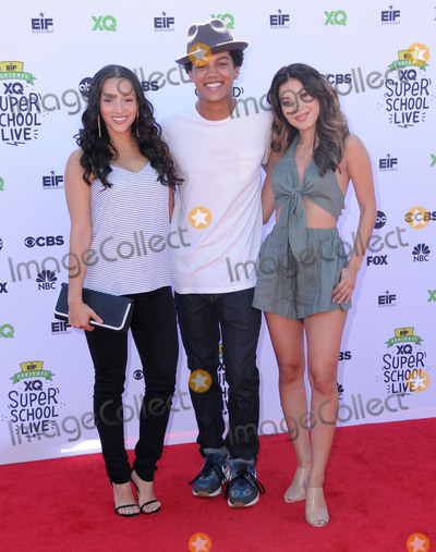 Ashley Campuzano Photo - 08 September  2017 - Santa Monica California - Danielle Vega Casey Motley Ashley Campuzano Entertainment Industry Foundation and XQ Institute Present XQ Super School Live held at The Barker Hangar in Santa Monica Photo Credit Birdie ThompsonAdMedia
