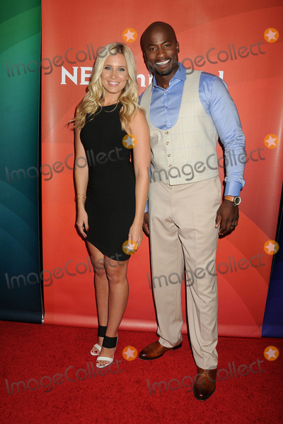Akbar Gbaja-Biamila Photo - 13 August 2015 - Beverly Hills California - Kristine Leahy Akbar Gbaja-Biamila NBC Universal 2015 Summer Press Tour - Day 2 held at the Beverly Hilton Hotel Photo Credit Byron PurvisAdMedia