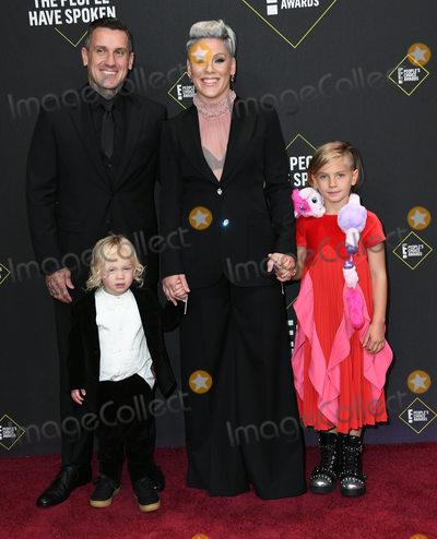 Pink Photo - 10 November 2019 - Santa Monica California - Carey Hart Pink 2019 Peoples Choice Awards held at Barker Hangar Photo Credit Birdie ThompsonAdMedia
