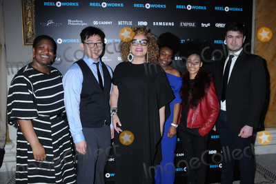 YES Photo - 16 April 2019 - New York New York - Gabe Fanelli Osa Adv Ruth E Carter Deborah Miller Faith Mora and Wei Ye Ng at the REEL WORKS Benefit Gala at Capitale in Chinatown Photo Credit LJ FotosAdMedia